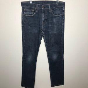 Levi's 511 Skinny Jeans Dark Wash Men's 31X32